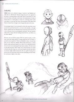 Aang Concept Art (Avatar)