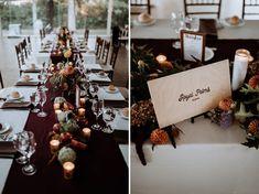 Boho Fall Wedding in burgundy and cream