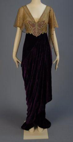 Art Nouveau Fashion, 1910s, Whitaker Auctions