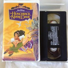 Disney Hunchback of Notre Dame Masterpiece Collection (VHS) Classic Movie #Hunchback #Princess