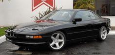 12 cylinders, Six Speeds, No Pillars: 1991 BMW 850i