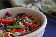 Shae's Soba Noodle Salad with Bok Choy