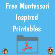 Wise Owl, Montessori, About Me Blog, Printables, Letters, Education, Inspired, Free, Inspiration