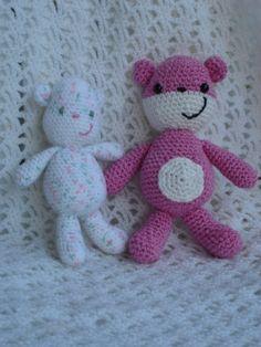 teddy bear free crochet pattern by Is It A Toy