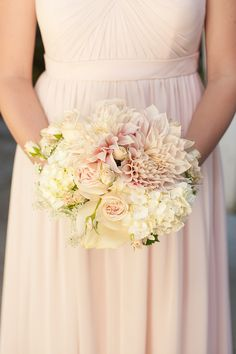 Rustic Blush and Ivory Ranch Wedding