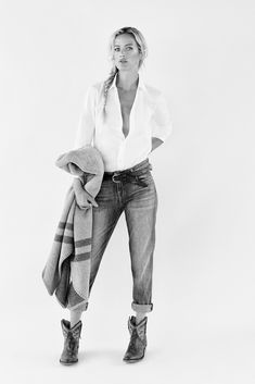"""""""Murphy's Law"""" Carolyn Murphy By Yelena Yemchuk For The Edit By Net-A-Porter 25th September 2014"""