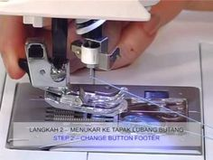 SINGER Sewing Machine 8770 - YouTube