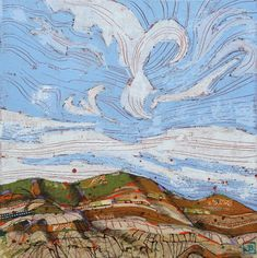 Justina is an artist based in Vermilion, Alberta. Neutral Color Scheme, Neutral Palette, Teal Colors, Pictures To Draw, Cool Pictures, Cool Photos, Wind In My Hair, Mixed Media Canvas, Backdrops