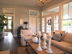 Favorite house/ favorite room from Fixer Upper.  That door is what I've dreamed of for years!