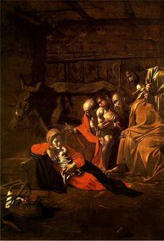 Adorazione dei pastori, #Caravaggio From Glob-Arts