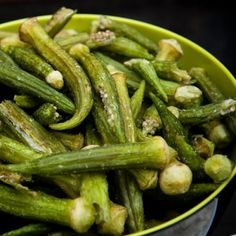Okra chips.  I have to figure out how to make these!