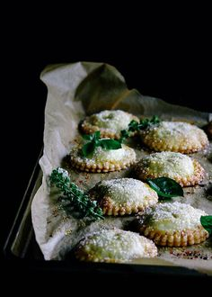 white peach, basil, and rose hand pies//beth kirby//local milk