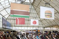 Campagne MCDO Mai 2015 Agence: TBWA Paris  Style Minimaliste, Print & partenariat avec Colette