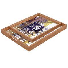 Ginette Fine Art Molten Maze Rectangular Tray | #Abstract @denydesigns Designs #Homedecor #homeaccessories @ginettefineart Fine Art