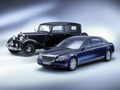 - Maybach 62 and DS8 Zeppelin | Automotive Images
