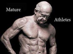 Пожилые спортсмены. Mature athletes.