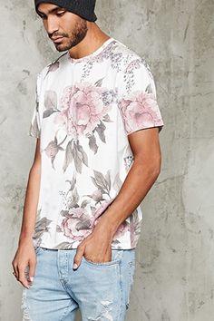 Floral Print Tee | 21 MEN - 2000214778