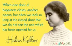 Helen Keller - inspirational