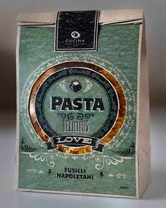 Cucino Colosseo Pasta Packaging Design on Behance