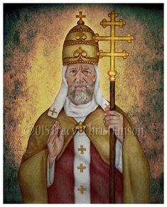 St. Leo the Great Print, Catholic Art #4221