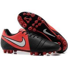 Nike CTR360 Maestri III AG Red Black White Nike Soccer 715a5eaefb77