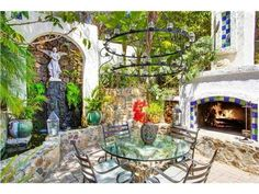 "11050 Dutton Dr, La Mesa, CA 91941 — Come escape to this ""must have"" Spanish Hacienda. Quality, Charm, and Character abound at this Oasis. Arched walkways, wood floors, mountain/ocean views, stone walkways, custom pool, indoor/outdoor fireplaces, satillo tiled court yards, Koi ponds, and yes a fully detached guest house. Truly ""one of a kind"" in Mt. Helix."