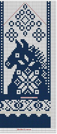 Filet Crochet, Crochet Cross, Crochet Chart, Knitting Charts, Knitting Stitches, Knitting Patterns, Crochet Patterns, Knitted Mittens Pattern, Knit Mittens