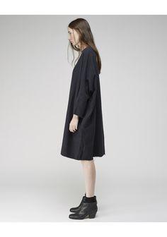 Black Crane / Painter Dress   La Garçonne