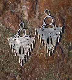 Seraphin Beaded Brass Drop Earrings | Jewelry Earrings | Sonja Rose B | Scoutmob Shoppe | Product Detail