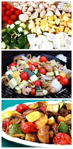 Vegetables Easy Grilled Vegetables -- a simple method for grilling up delicious veggies this spring! Easy Grilled Vegetables -- a simple method for grilling up delicious veggies this spring! Best Grilled Vegetables, Grilled Vegetable Recipes, Vegetarian Recipes, Cooking Recipes, Healthy Recipes, Starchy Vegetables, Veggie Food, Bbq Vegetables, Summer Vegetable Recipes