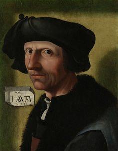 Portret van Jacob Cornelisz van Oostsanen (c. 1472/77-1528/33), Jacob Cornelisz. van Oostsanen, 1533
