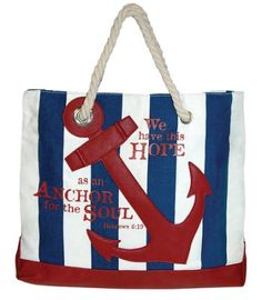Blue Wave And Red Anchors Women Sports Gym Totes Bag Multi-Function Nylon Travel Shoulder Bag