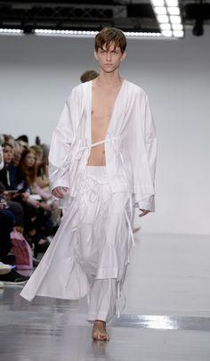 Craig Green fashion show, London Collections: Men, Spring Summer 2015, London, Britain - 17 Jun 2014
