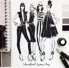 Недавно мы с вами уже говорили о моде и вдохновении эскизами коллекций с Нью-Йоркских показов , поэтому, продолжая эту тему, сегодня м...
