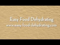 Easy Food Dehydrating Recipes Using Your Own Dehydrated Food