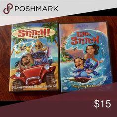LILO and Stitch DVD set Set of Disney LILO and Stitch DVDs. Accessories