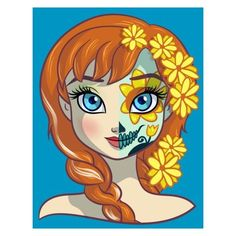 Sugar Skull Series Pumpkin Princess ❤ liked on Polyvore featuring home and children's room