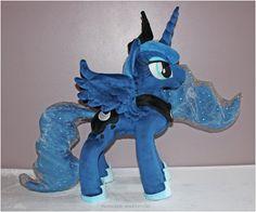 Large Custom Princess Luna Minky Plush - My Little Pony - Made To Order. £350.00, via Etsy.