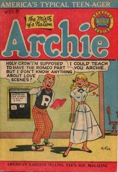 Archie 25, Archie Comic Publications, Inc.  https://www.pinterest.com/citygirlpideas/archie/