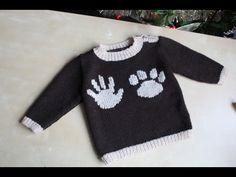 Мастер- класс. Вяжем спицами детский свитер. Полная версия - YouTube