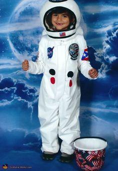 Astronaut Julian in the Moon - 2012 Halloween Costume Contest