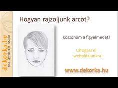 Az emberi fej (arc) arányai. Emberi arc rajzolása lépésről lépésre. Rajztanfolyam mindenkinek. Tanuljunk rajzolni könnyedén.