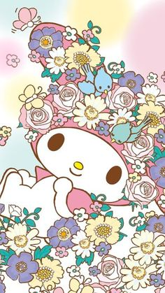 """So dreamy in land of flowers"""