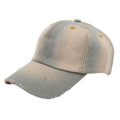 e30b312aeb0 Washed Denim Cap. Denim HatBaseball ...