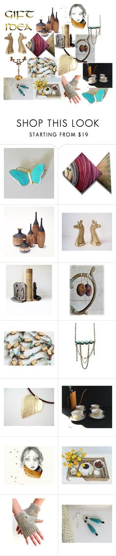 """Gift Idea"" by inspiredbyten on Polyvore featuring interior, interiors, interior design, home, home decor, interior decorating, Aksel Holmsen, MCM and Millet"