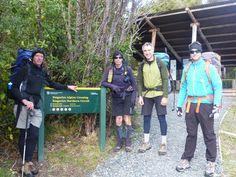 Start of Tongariro Crossing