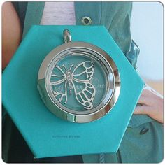 Spring 2015- Prism locket face (don't forget the base) and butterfly window plate from Origami Owl! #Spring #locket #prism #butterfly #windowplate #silver #giftsforher #womansfashion #fashion #style #mothersday #holiday #wahm #sahm #Origami #Owl