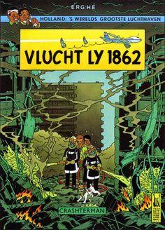 Les Aventures de Tintin - Album Imaginaire - Vlucht LY 1862