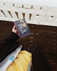 """""""That's the problem. We let people say stuff, and they say it so much that it becomes okay to them and normal for us. What's the point of having a voice if you're gonna be silent in those moments you shouldn't be?""""   ― Angie Thomas, The Hate U Give      #thehateugive #angiethomas #bookstagram #booklover #traveling #norway #currentlyreading"""