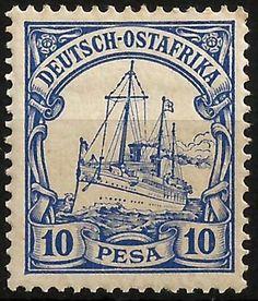 German East Africa 10 Pesa c1900